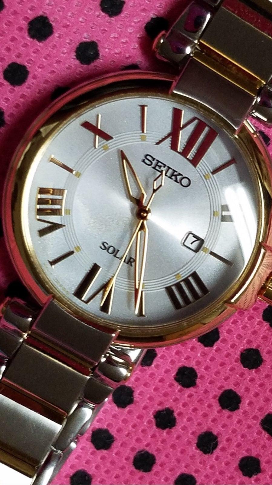 Seiko SUT154 Solar Stainless Steel Watch