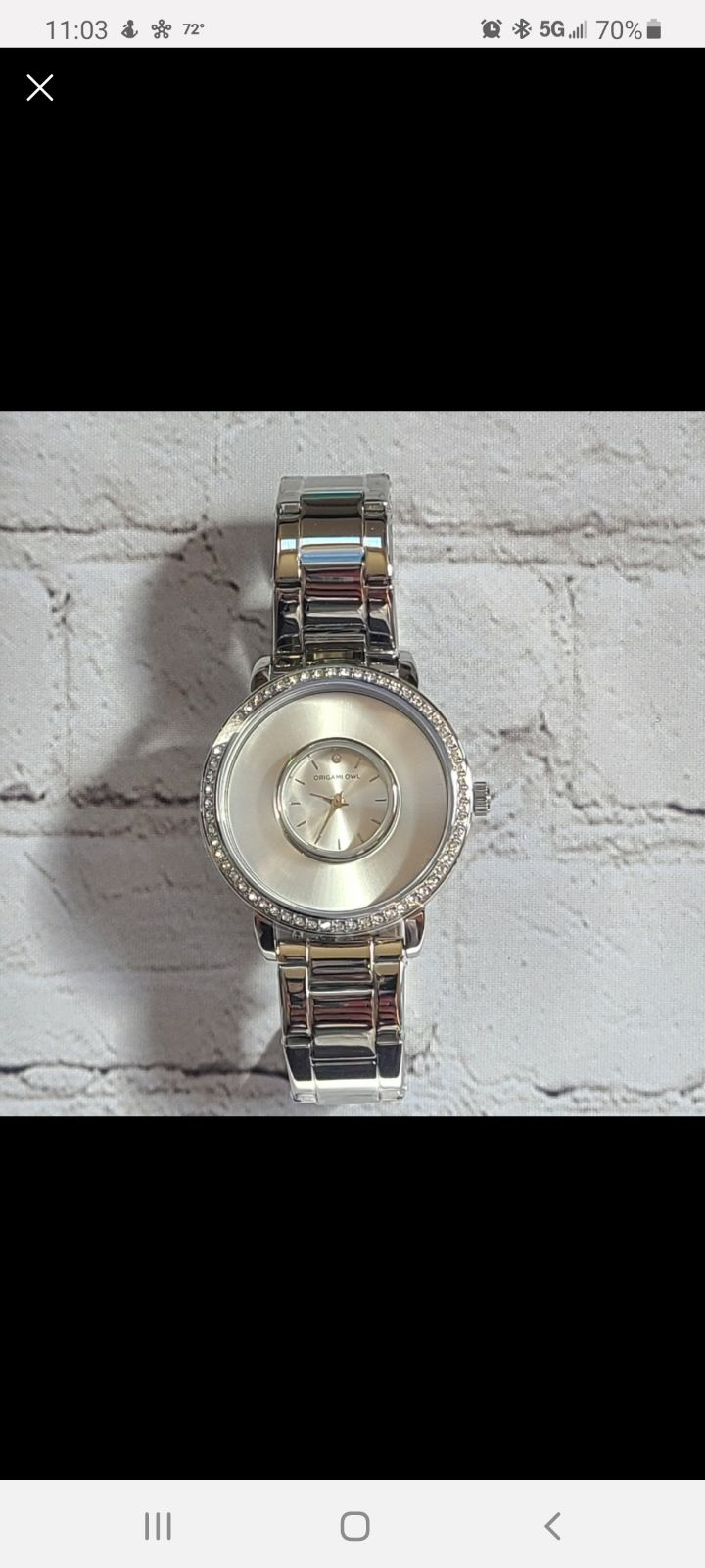 NWT ORIGAMI CHARM Watch
