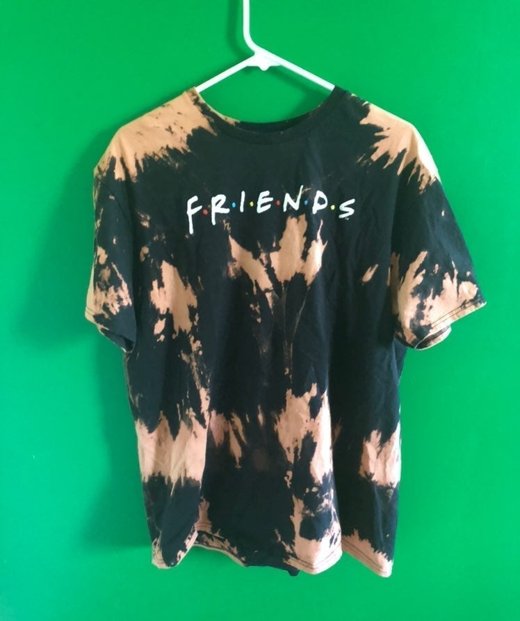 Friends Bleach Dyed T-Shirt