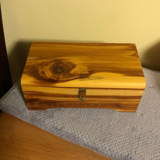 Custom Made Cedar Jewelry Box
