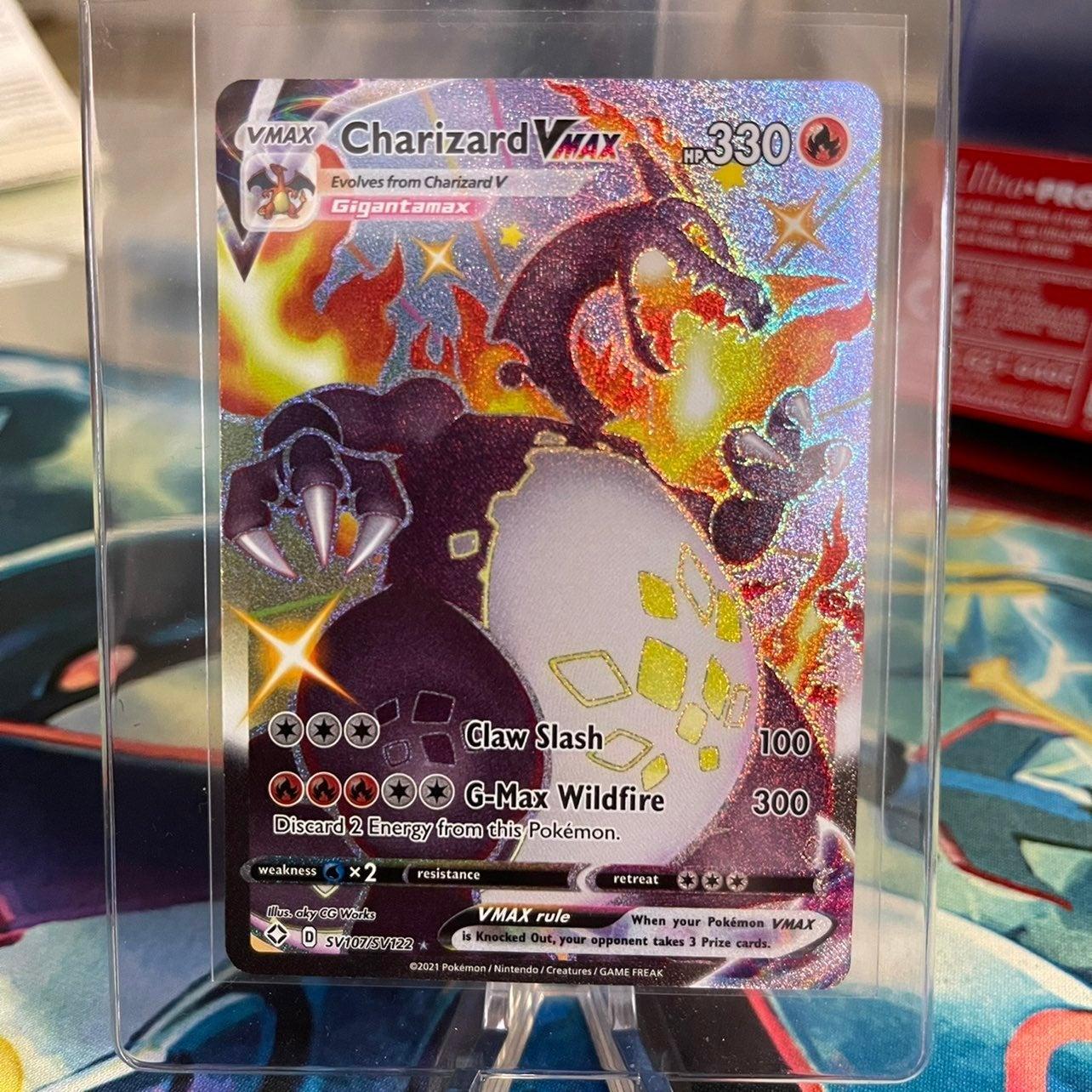 Pokemon shining fates Charizard VMAX