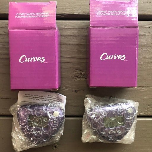 Curves Pedometers (Lot of 2)