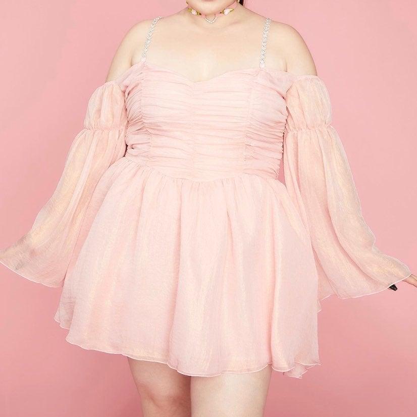 Sugar Thrillz 1x chiffon dress
