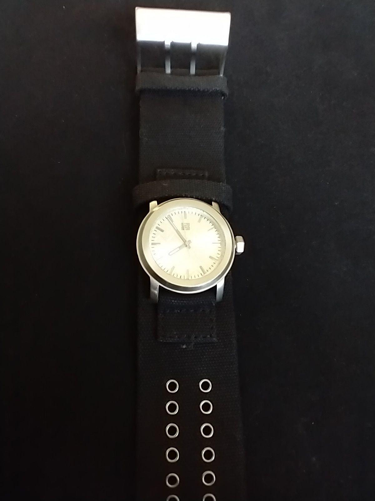 KREW Black Cloth Watch KR3W