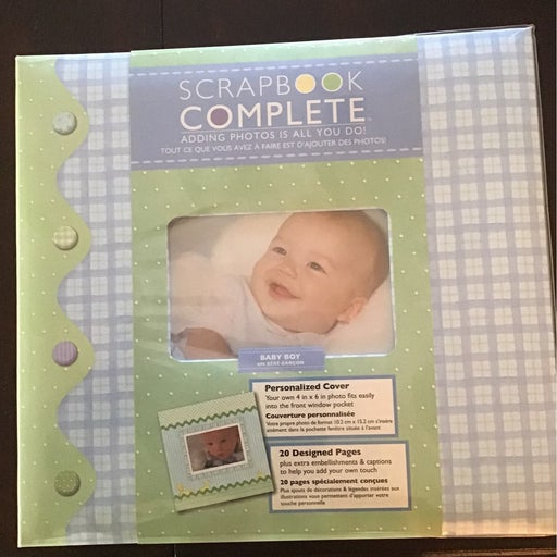 Scrapbook Complete 12x12, just add pics
