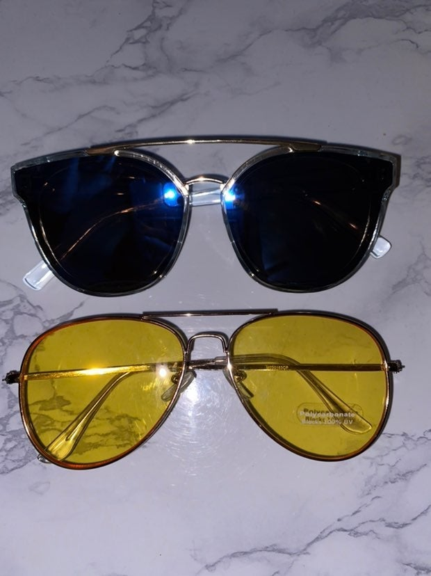 2/$15 Fashion Nova Sunglass Bundle