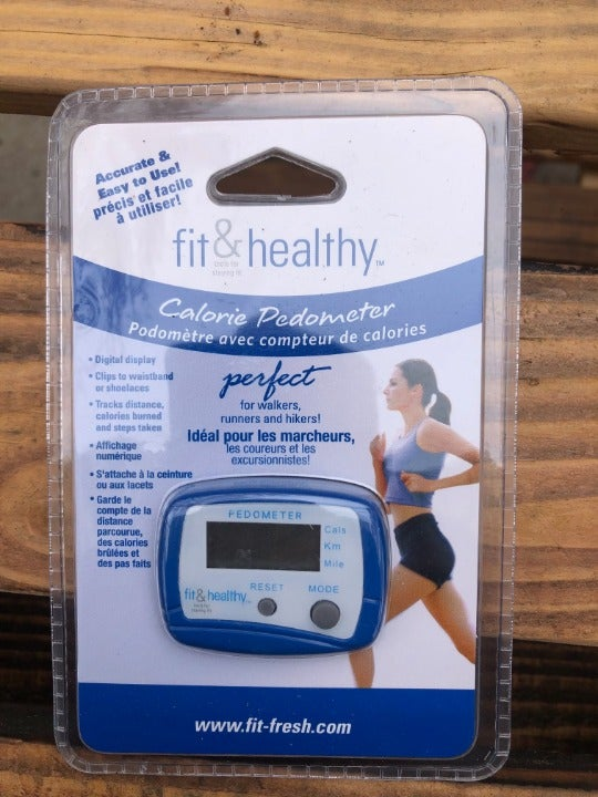 New Fit & Healthy Pedometer   Free ship
