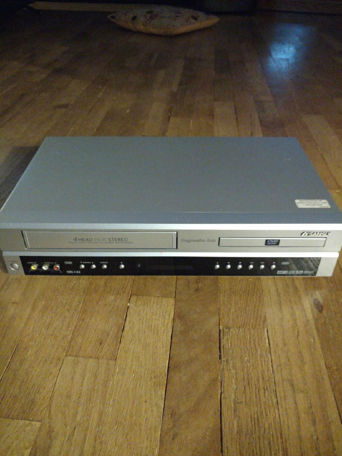 Sansui DVD /VHS player