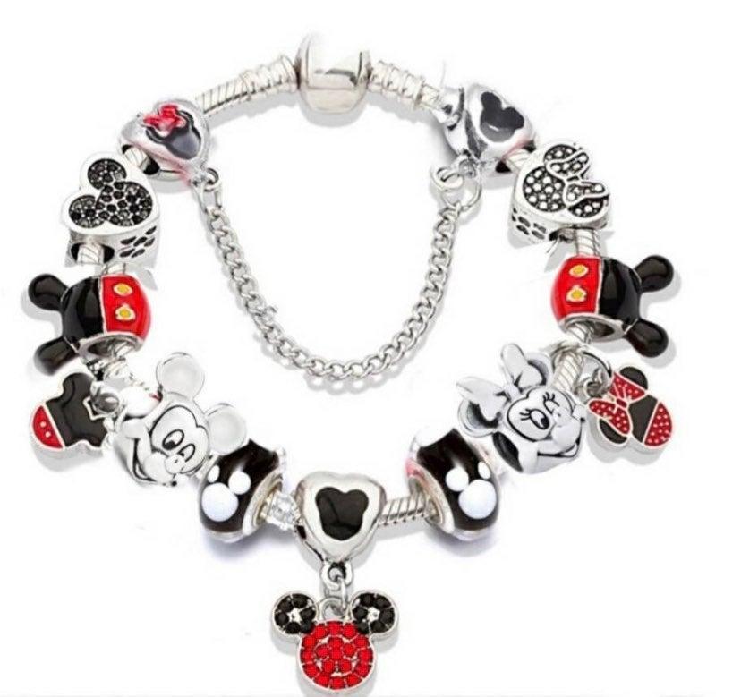 Mickey & Minnie Charm Bracelet