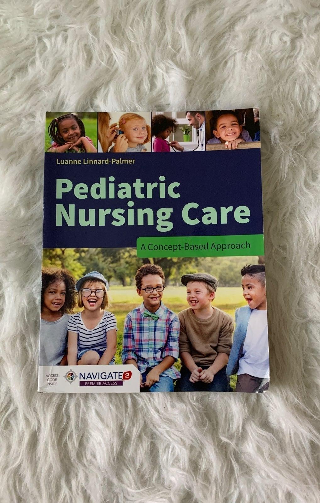 Pediatric Nursing Care Textbook