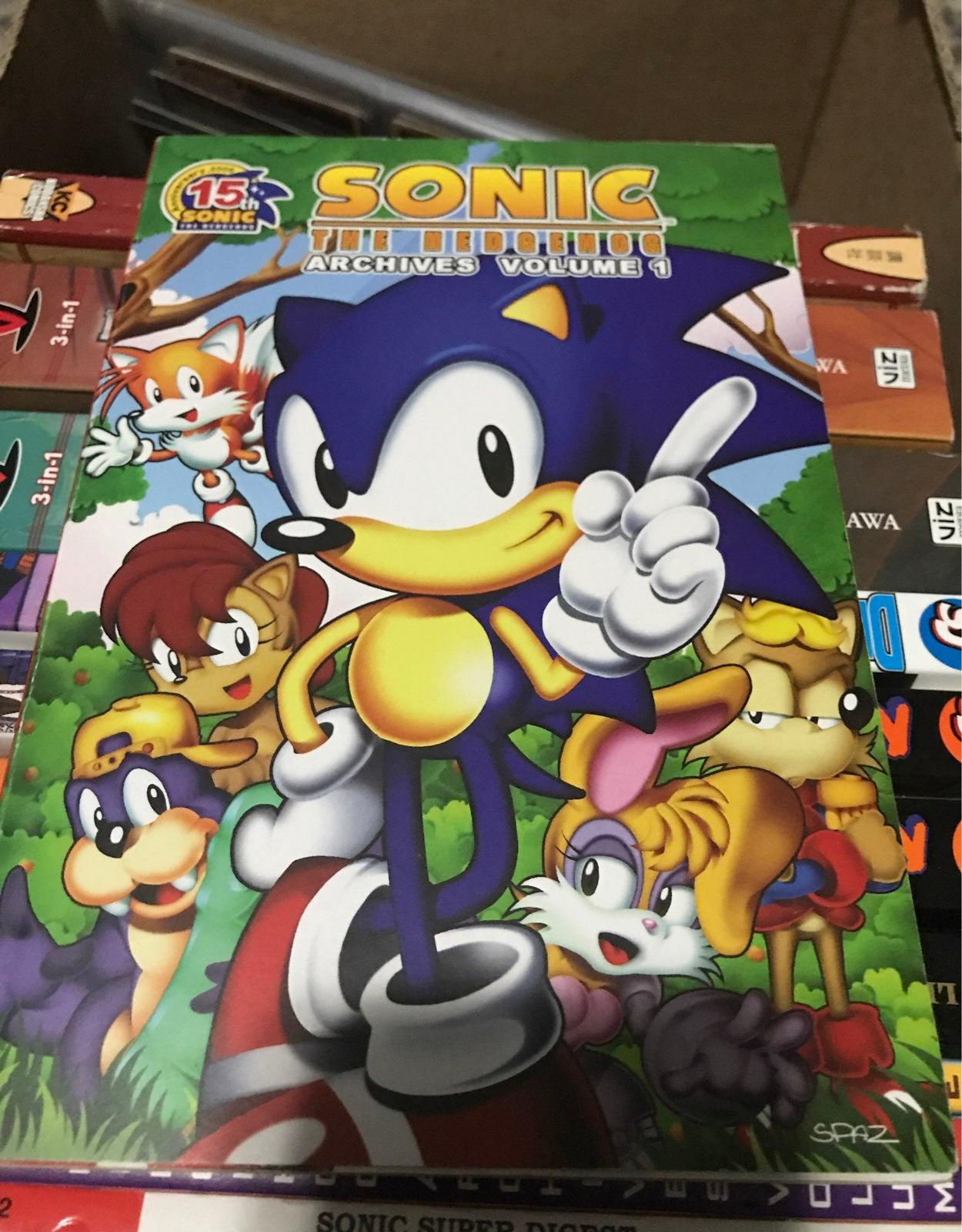 Sonic comic archives vol. 1