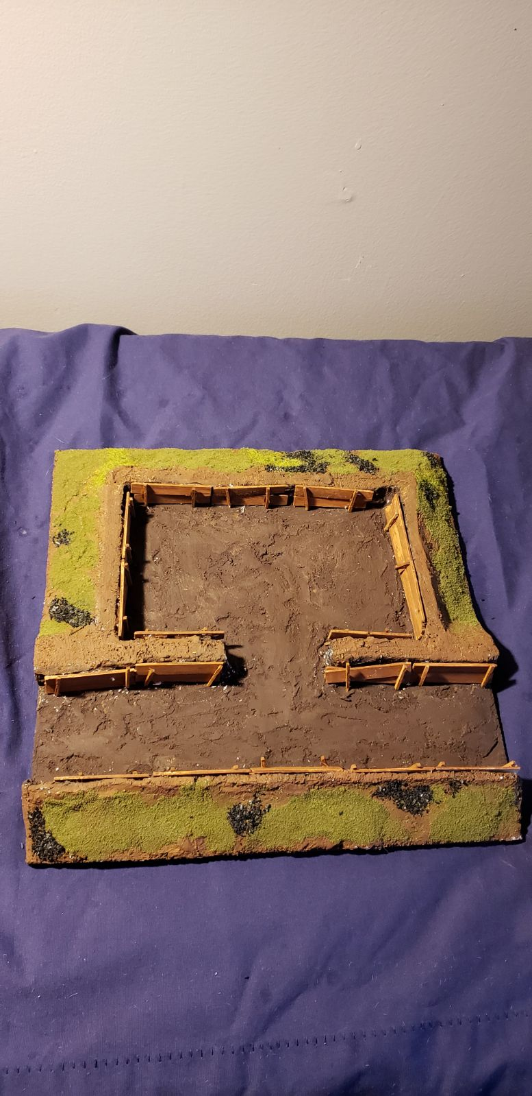 Warhammer Bunker and Trench