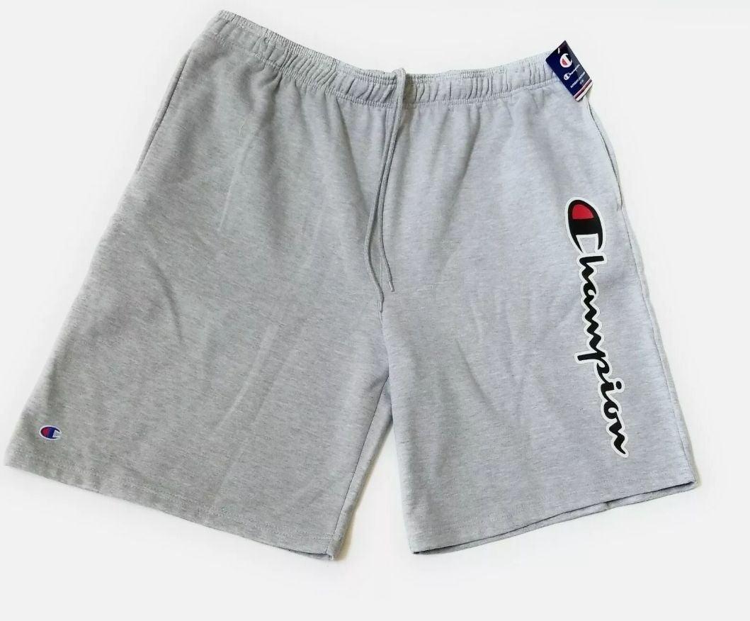 Champion Heather Gray Fleece Shorts- 3XL