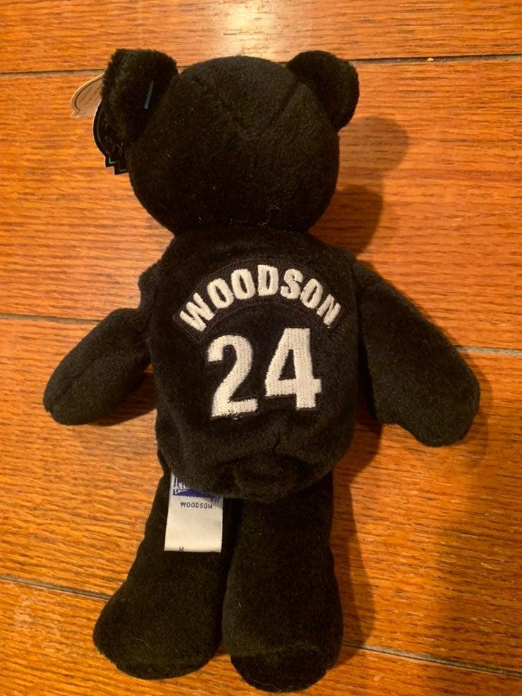 Oakland Raiders Charles Woodson Bear