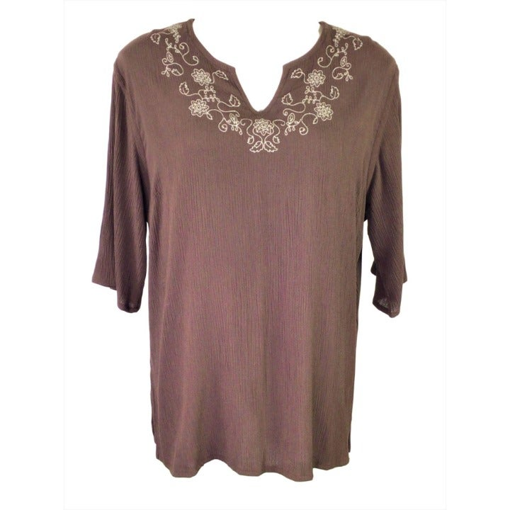 Westbound Top Size Large Brown