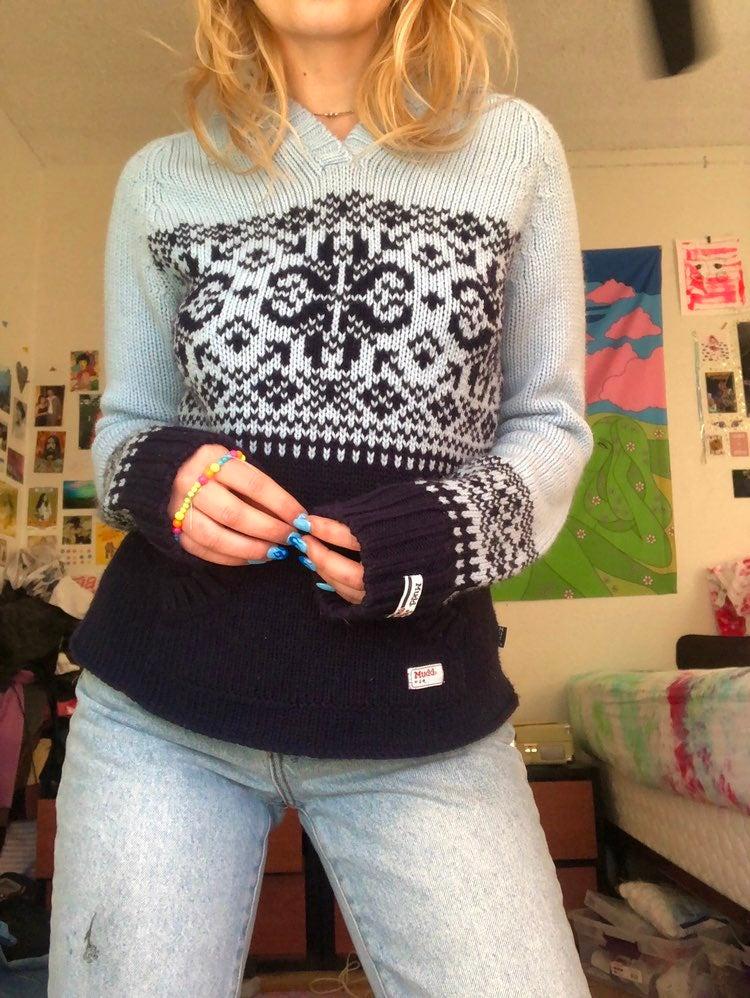 y2k Mudd Sweater