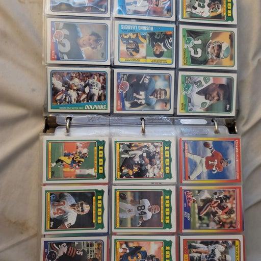 Baseball and Football Card lot