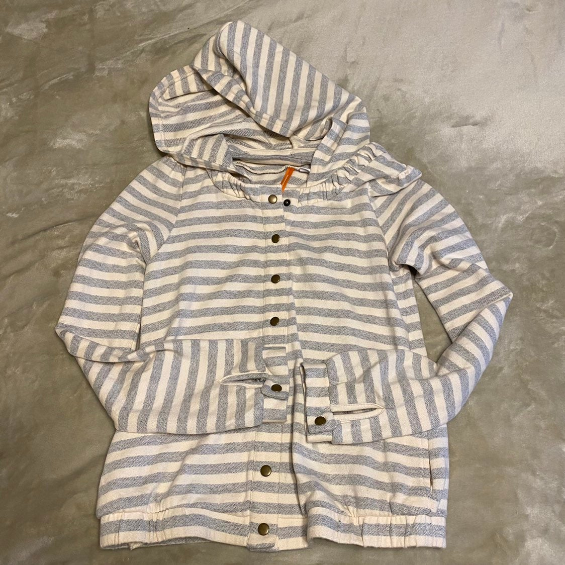 Anthro saturday sunday striped jacket xs