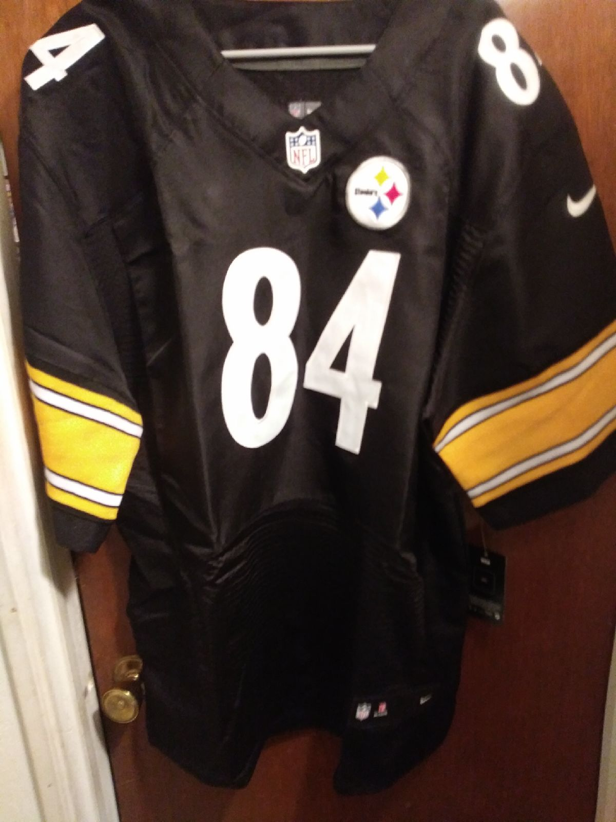 Jersey Steelers #84 Brown 4x