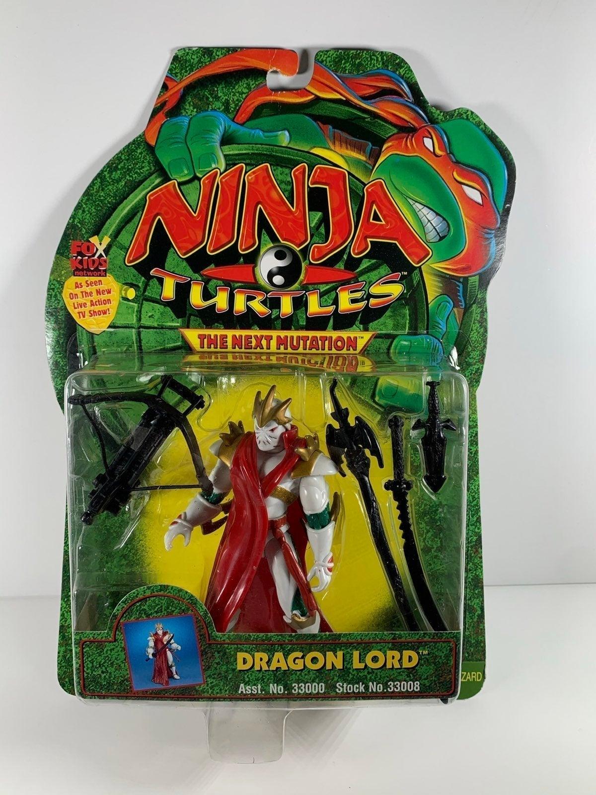 TMNT 1997 Dragon Lord Action Figure MOC