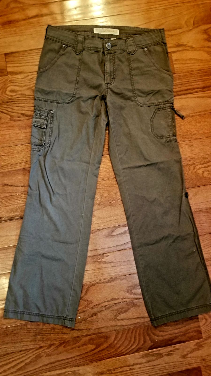 Cabelas Casuals Green Size 9 Pants