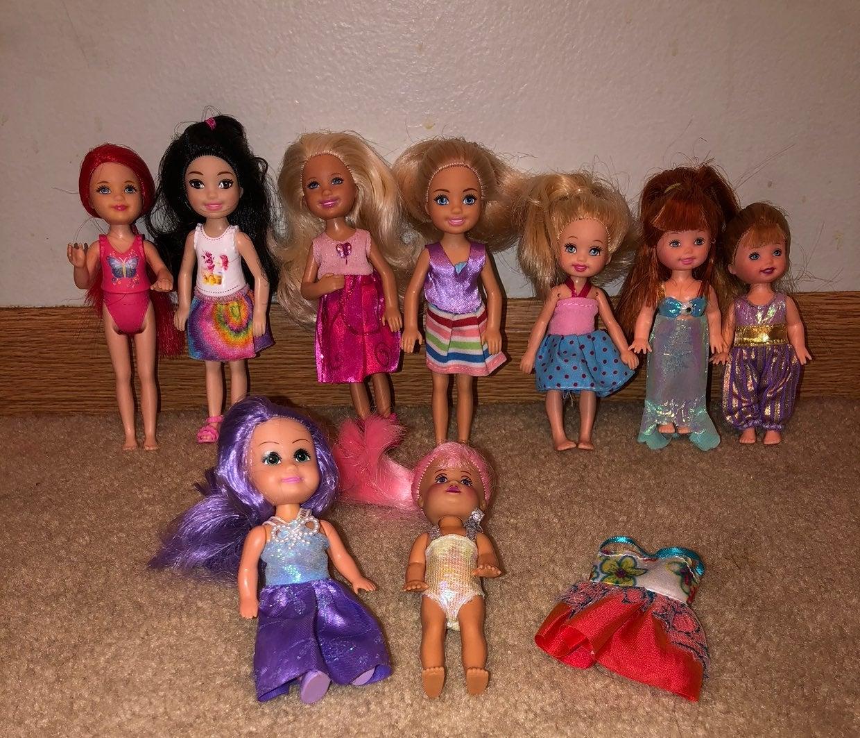 Barbie Doll Lot - Chelsea & Kelly dolls