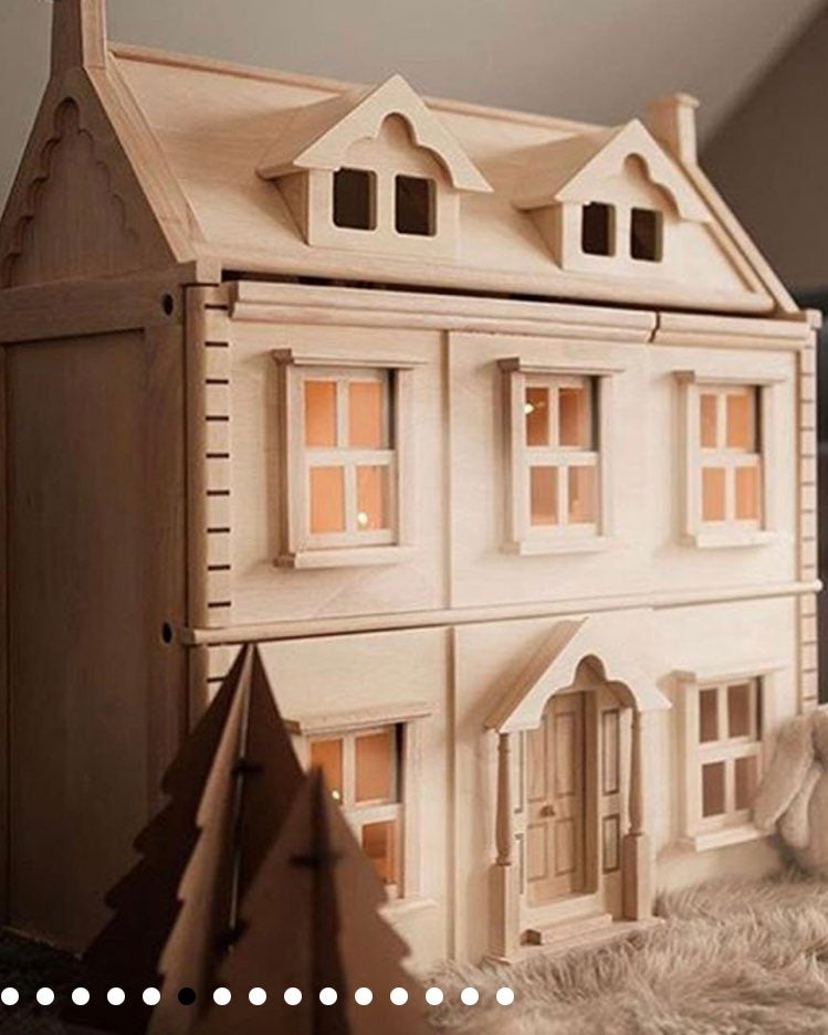 NEW Victorian Dollhouse from Plan Toys