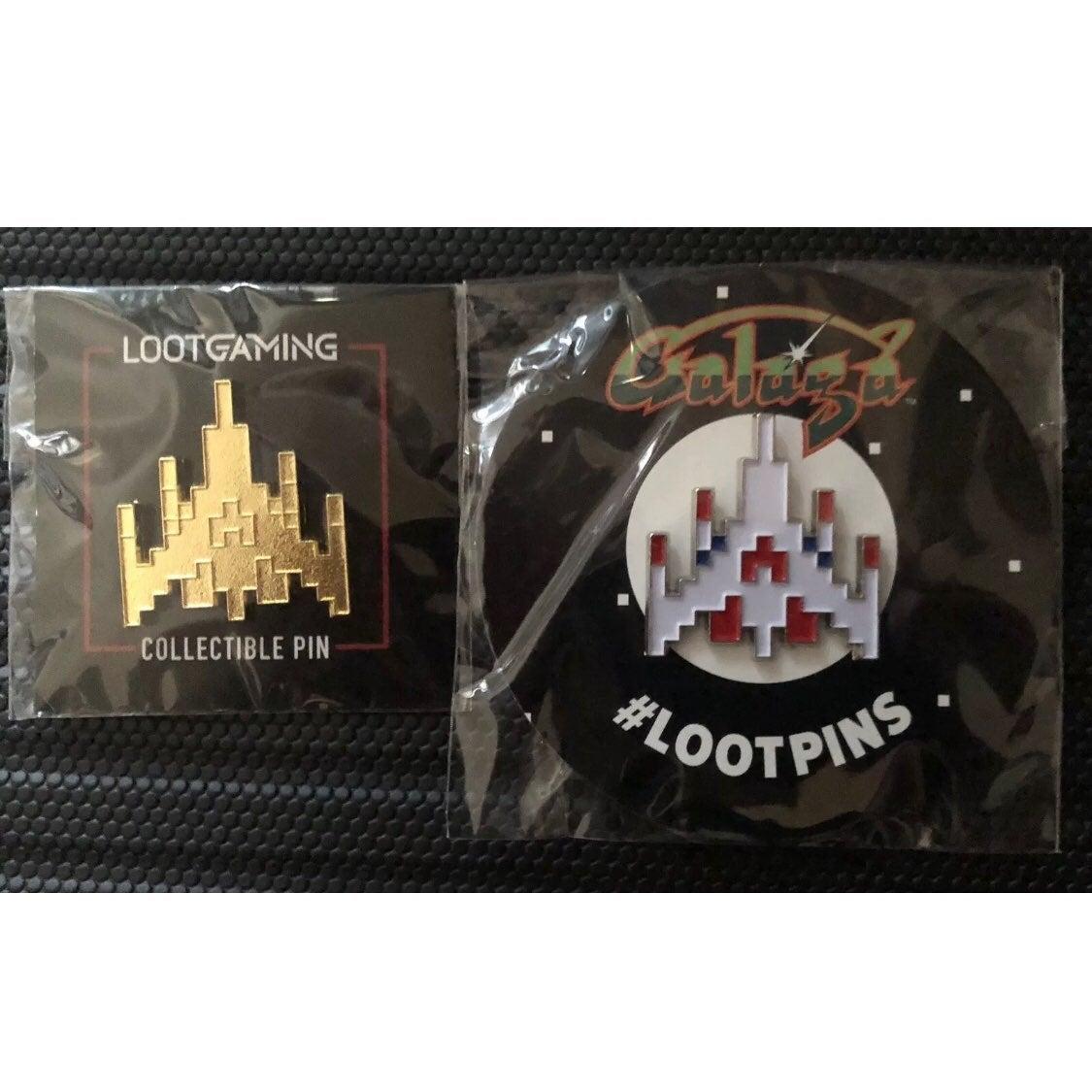 Atari GALAGA Pin Set