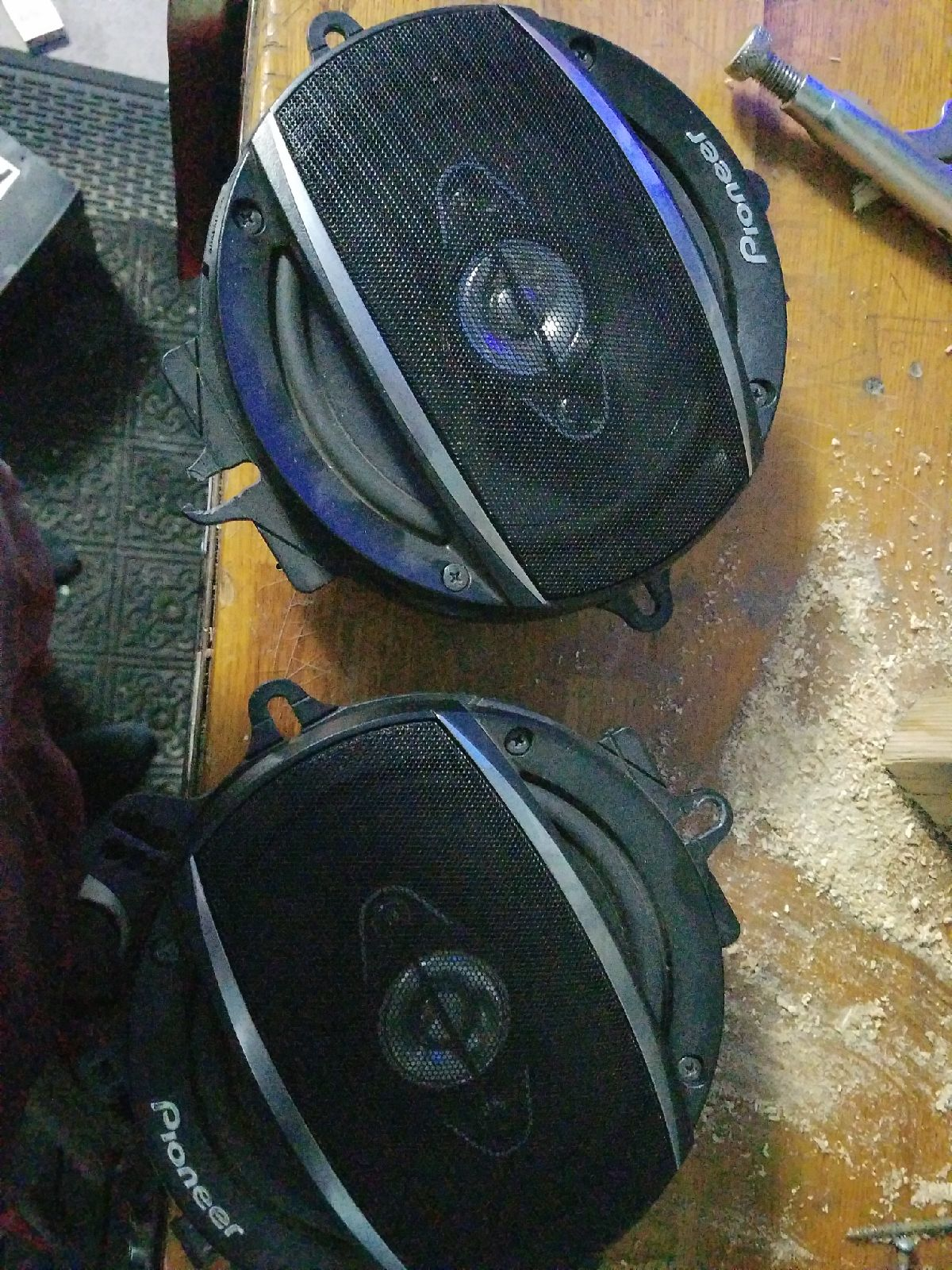 """Pioneer A1680F 6.5"""" Speakers"""