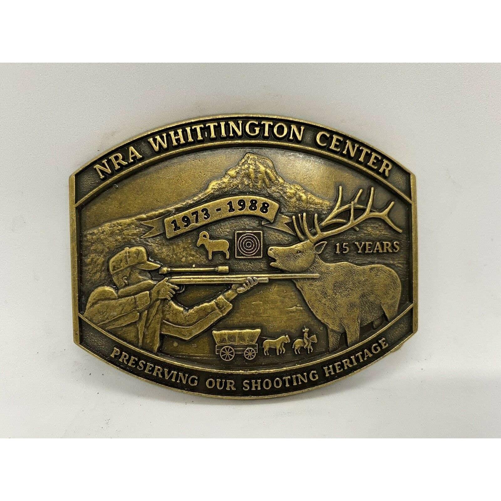 NRA Whittington Center Belt Buckle