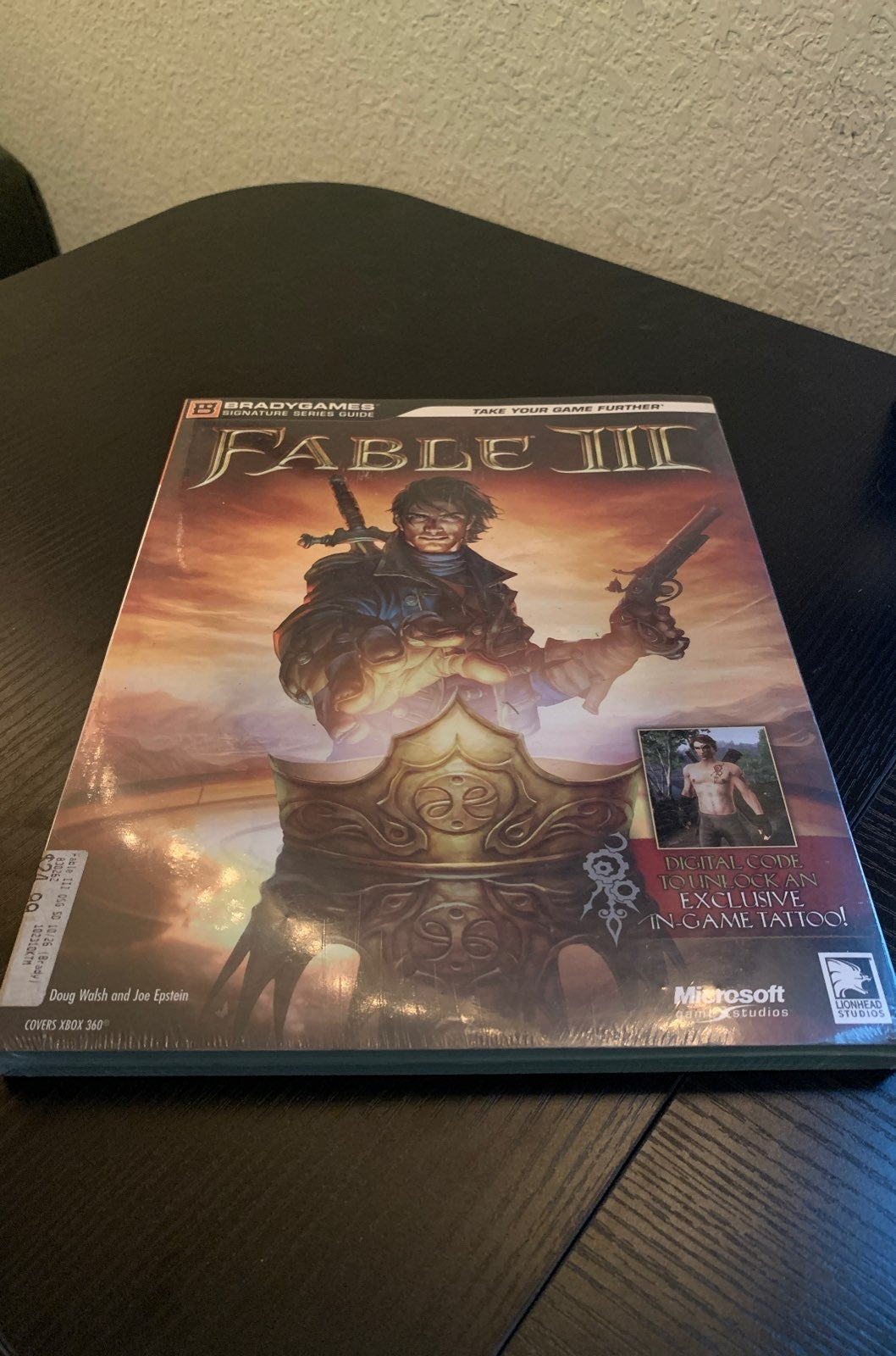 Fable 3 Strategy Guide Factory Sealed