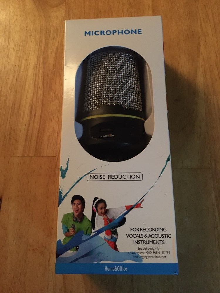 Noise reduction computer microphone