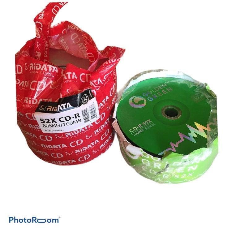 Bundle of 75 CD-R 52X 80min/700MB