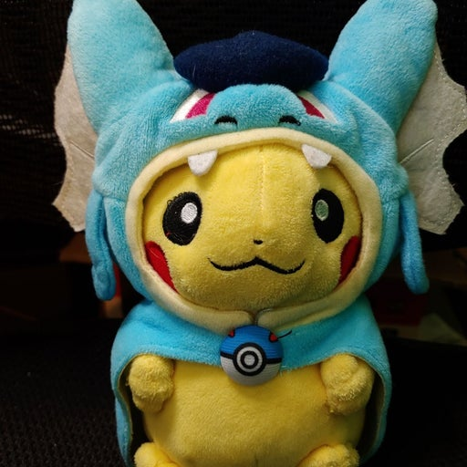 Gyarados Poncho Pikachu Plush