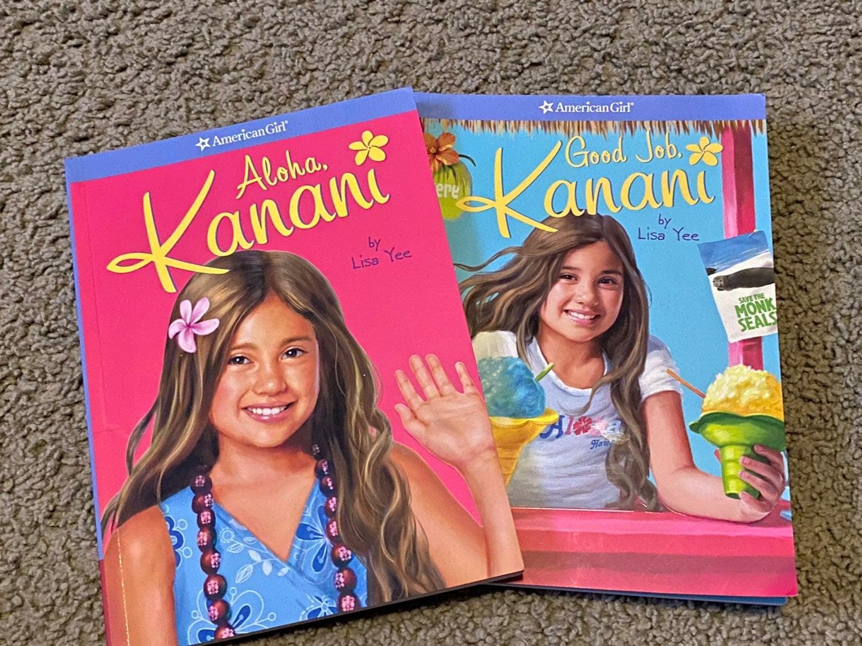American Girl Kanani Books