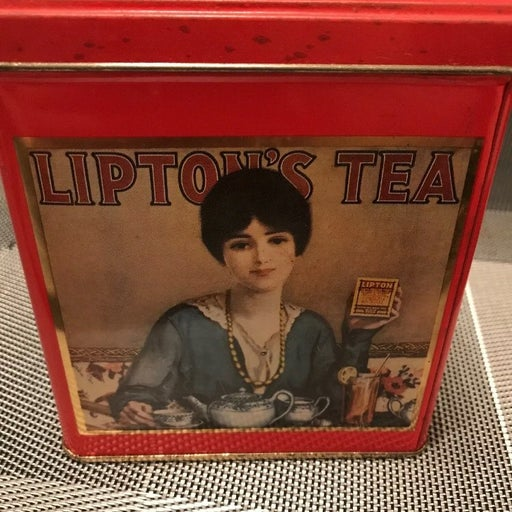 Vintage Lipton Tea Nostalgic Tin Collect