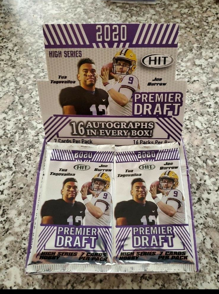 HOT PACK. 1 AUTO PER PACK SAGE HIT 2020
