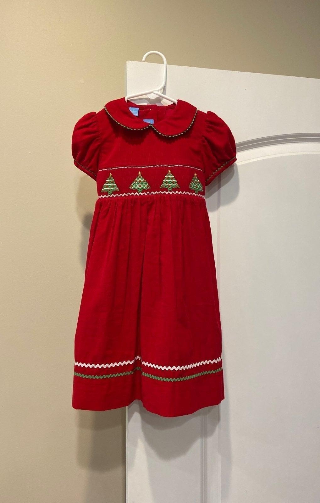 Smocked Christmas Dress 3