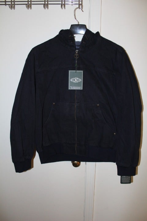 Men's Large Navy Canvas Jacket