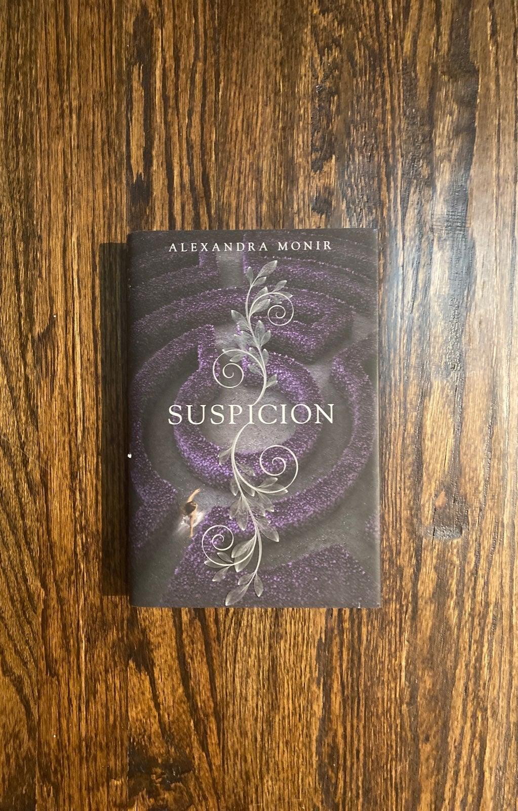 suspicion hardback