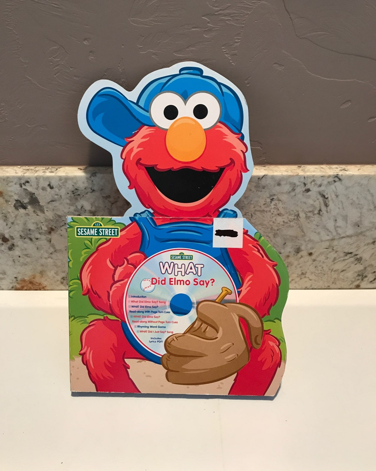 Sesame Street Elmo CD Book