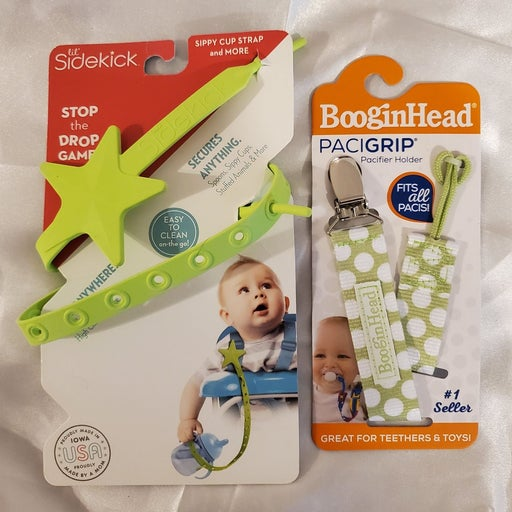 Sidekick sippy holder AND BooginHeads pa
