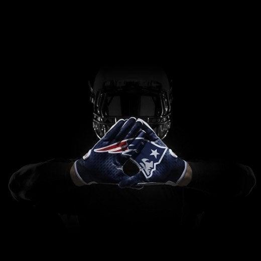Nike Superbad Patriots Gloves XXL