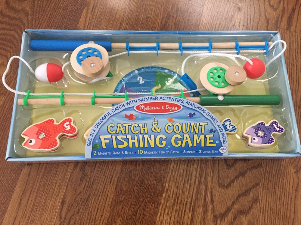 Melissa & Doug Catch and Count Fishing g