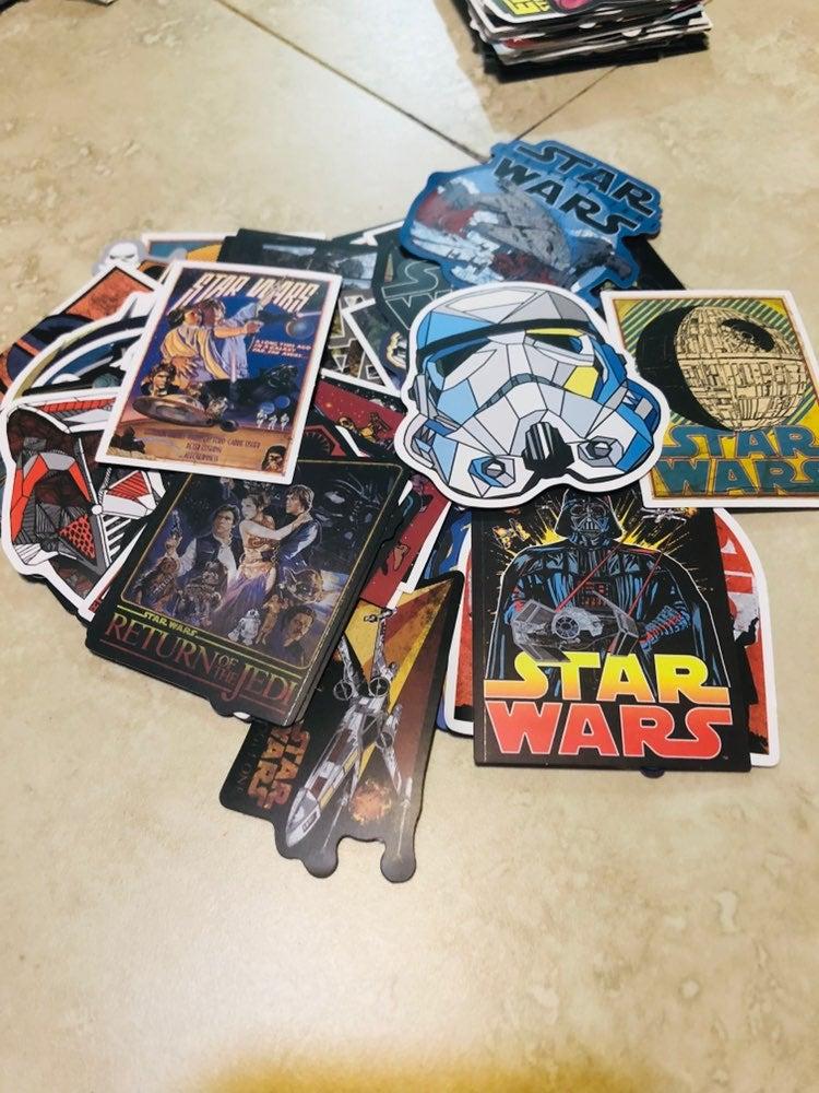 20 star wars stickera new lot