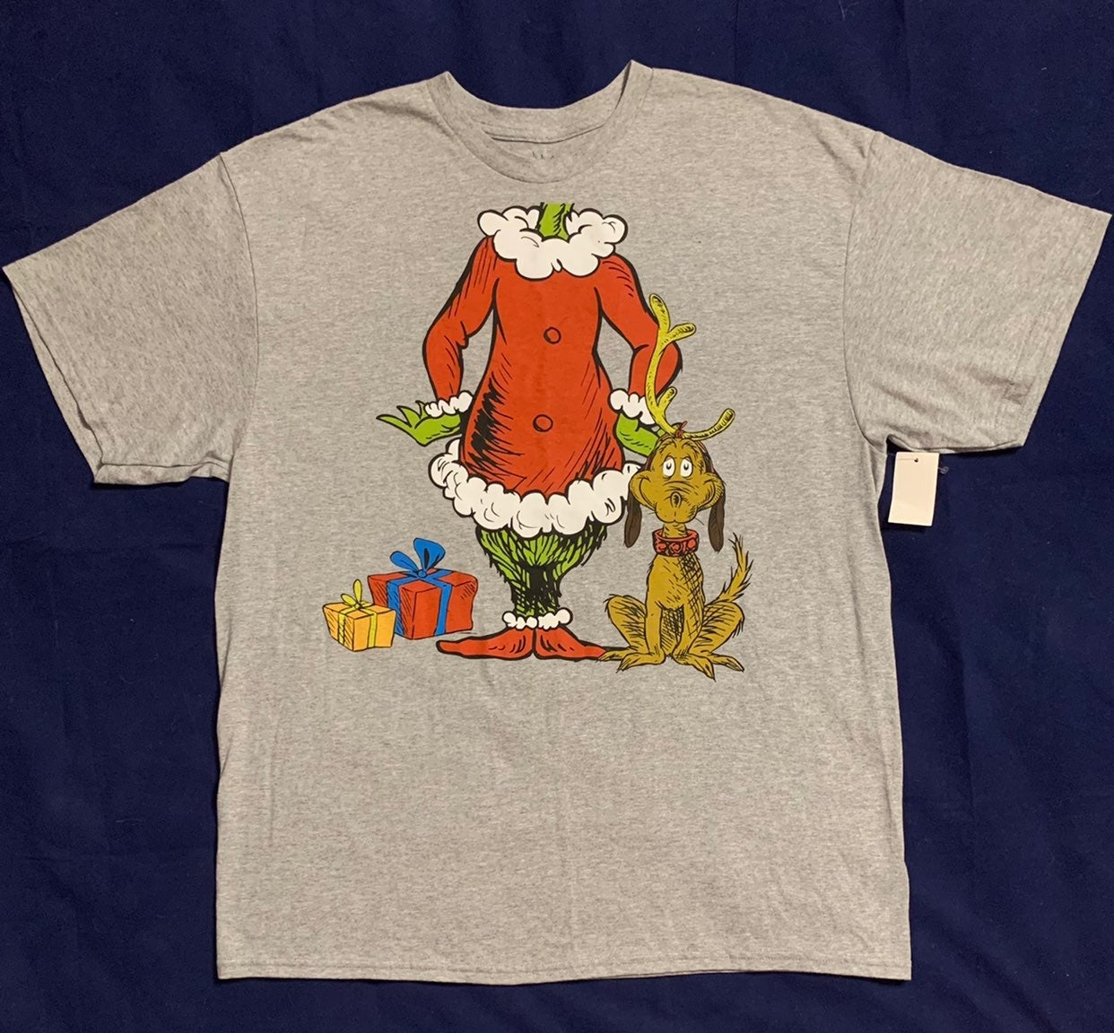Vintage The Grinch Christmas T Shirt XL