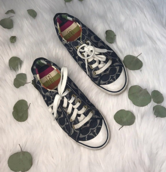 Size 7 Authentic Coach Sneakers Tennis S