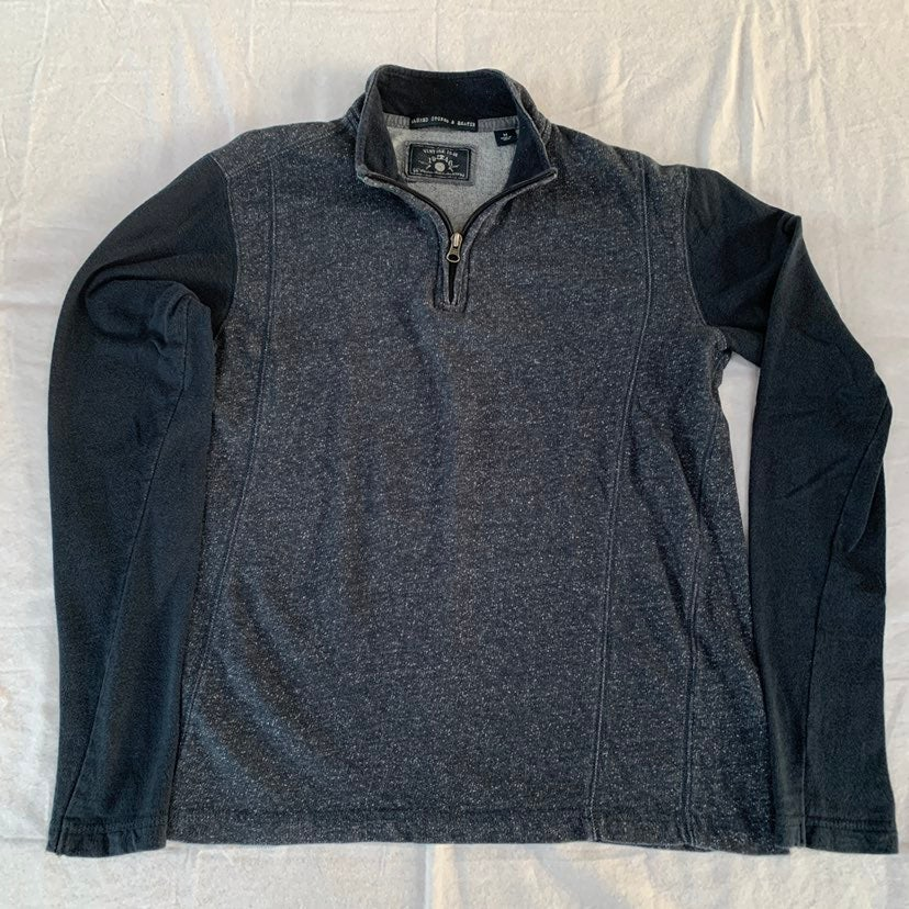 Vintage 1946 Navy Quarter-Zip