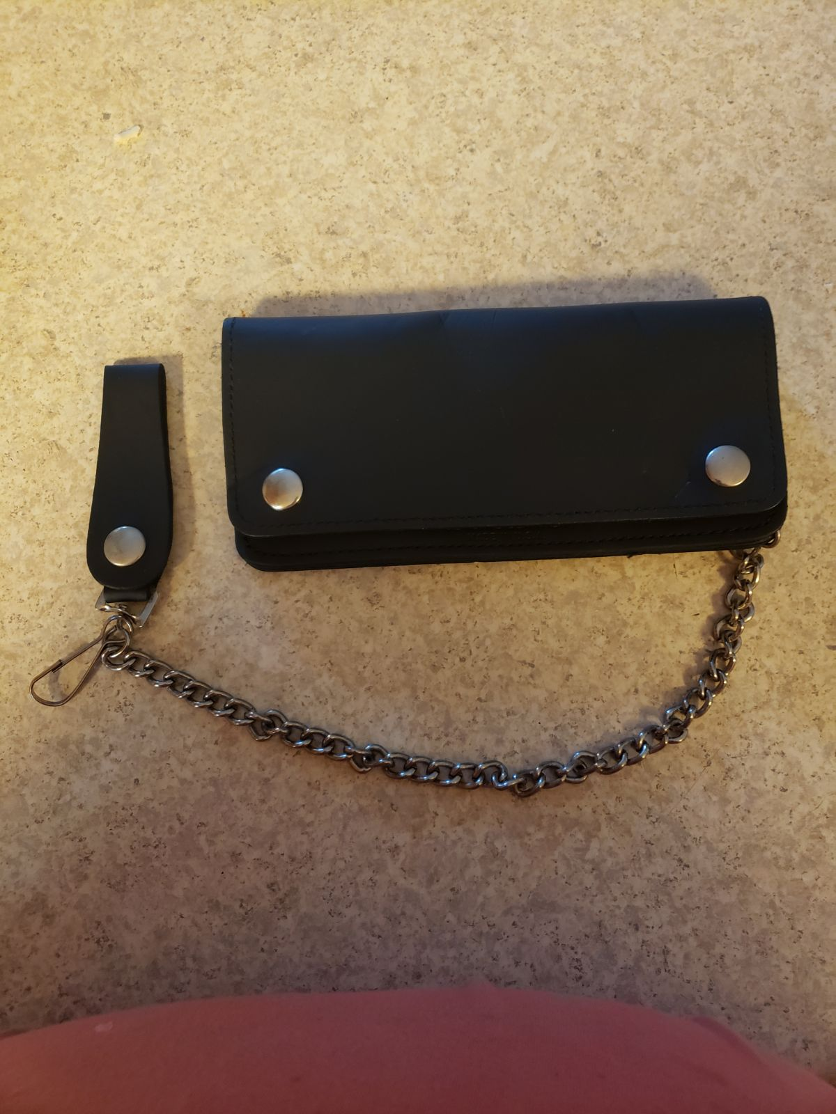 Chained Leather wallet