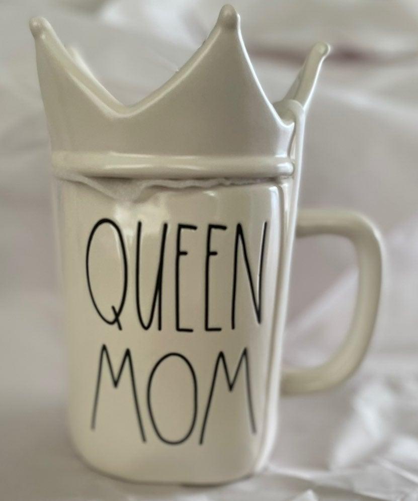 Rae Dunn Queen Mom mug